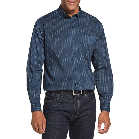 Van Heusen Slim Flex Non-Iron Stretch Long-Sleeve Button-Down Shirt