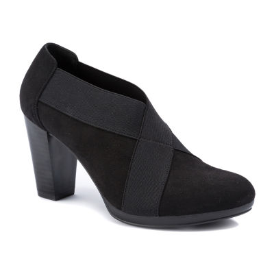 Andrew Geller Kadi Womens Round Toe Slip-On Shoes
