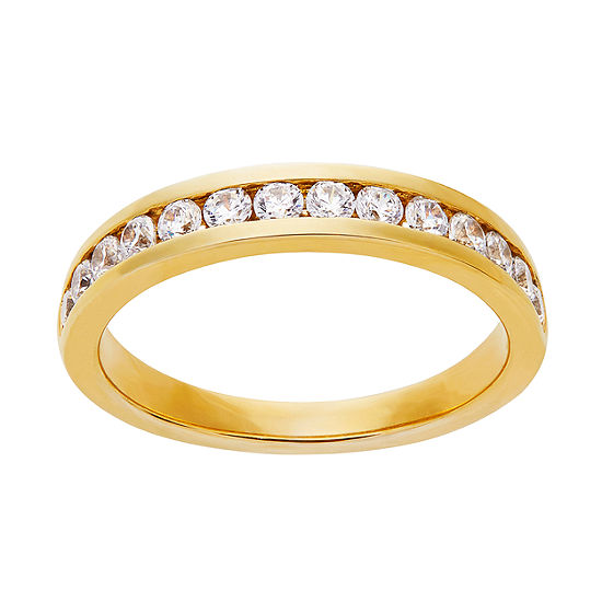 Grown With Love 1/2 CT. T.W. Lab Grown White Diamond 14K Gold Round Wedding Band