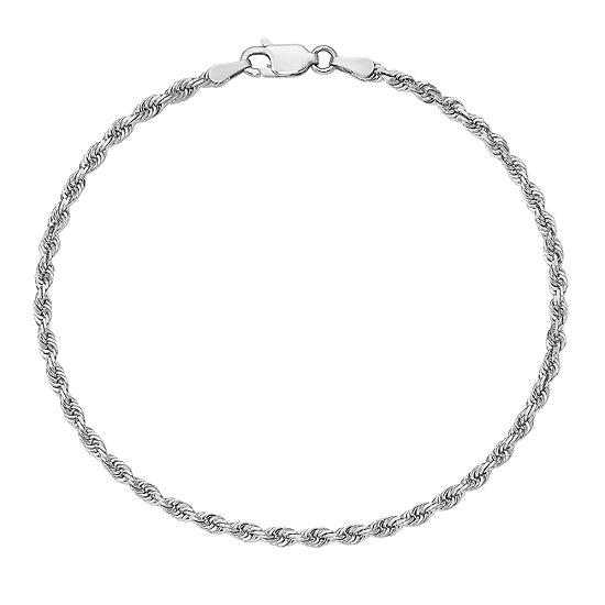 8 Inch Rope Chain Bracelet