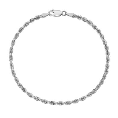 9 Inch Rope Chain Bracelet