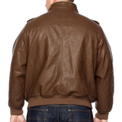 Levi's® Faux Leather Bomber Jacket Big and Tall