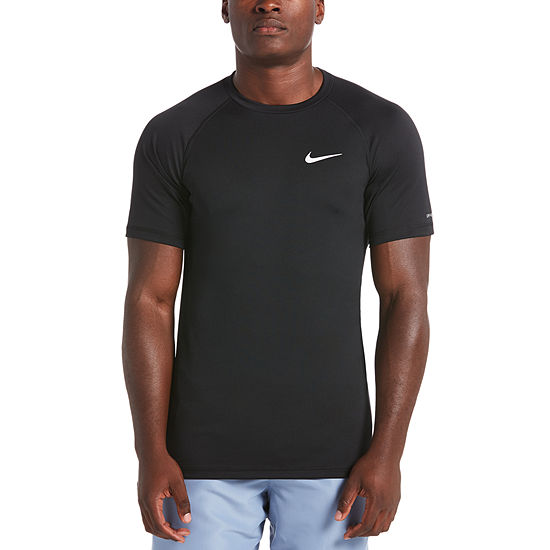reputable site 80f0b 432ff Nike Solid Short Sleeve Hydroguard Short Sleeve Crew Neck T Shirt JCPenney