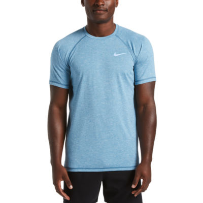 Nike Heather Hydroguard Short Sleeve Crew Neck T-Shirt