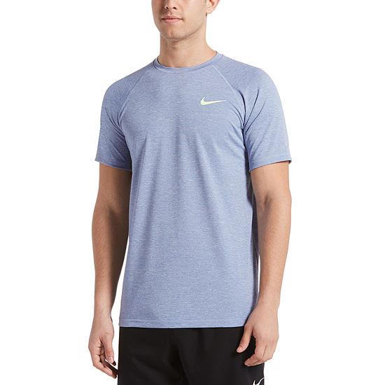 Nike Heather Hydroguard Short Sleeve Crew Neck Tee