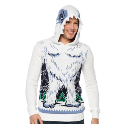 Ugly Christmas Snowman Graphic Hoodie