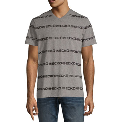 Ecko Unltd Short Sleeve V Neck T-Shirt