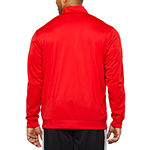 adidas Adidas Essential 3 Stripe Track Jacket Lightweight Track Jacket Big and Tall