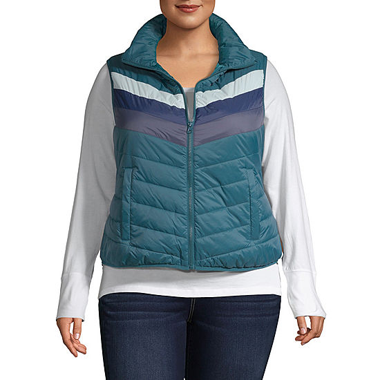 79a7b7c0ccd Arizona Puffer Vest-Juniors Plus - JCPenney