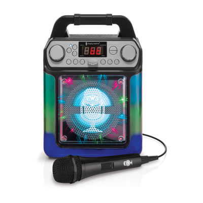 Singing Machine AGUA Karaoke System with Dancing Water Fountain and Multi-Colored LED Display