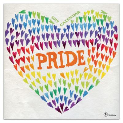 Tf Publishing 2019 Pride Wall Calendar