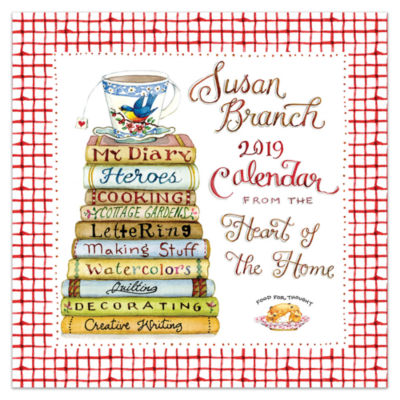 Tf Publishing 2019 Susan Branch Heart Of The Home Wall Calendar