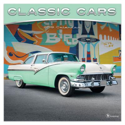 Tf Publishing 2019 Classic Cars Wall Calendar