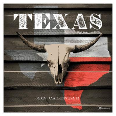 Tf Publishing 2019 Texas Wall Calendar