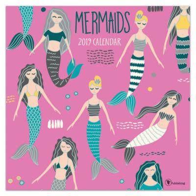 Tf Publishing 2019 Mermaids Wall Calendar