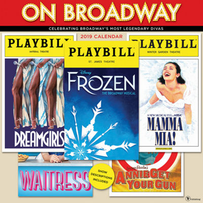Tf Publishing 2019 On Broadway Wall Calendar