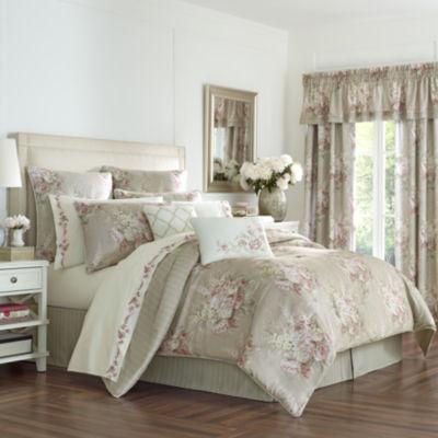 Royal Court Eleanor 4-pc. Floral Comforter Set