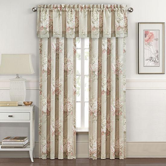 Royal Court Eleanor Rod-Pocket Curtain Panel