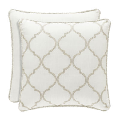 Royal Court Eleanor Square Throw Pillow