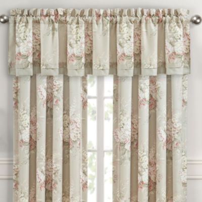 Royal Court Eleanor Rod-Pocket Tailored Valance