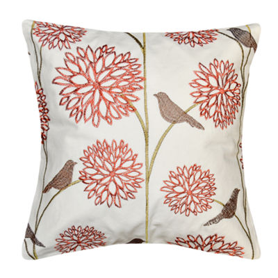 Harlow Birds 18x18 Square Throw Pillow