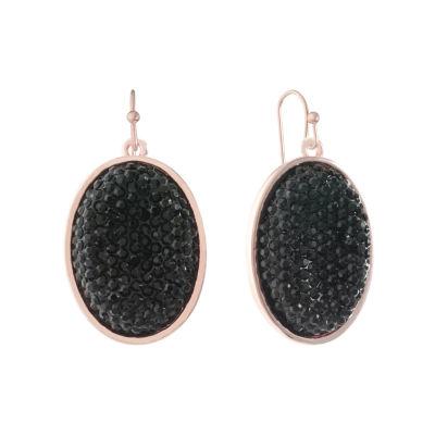 Mixit Black Drop Earrings