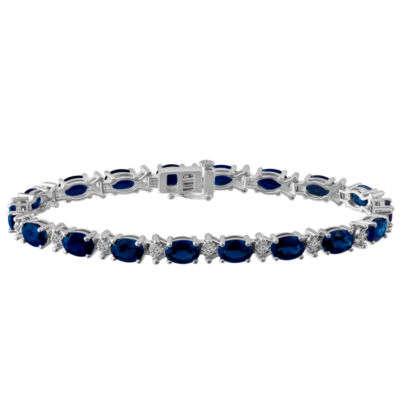 Sterling Silver 7.5 Inch Link Chain Bracelet