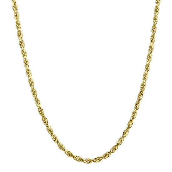 Solid Rope Chain Necklace