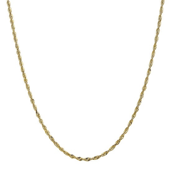 Hollow Rope Chain Necklace