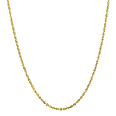18 Inch Hollow Rope Chain Necklace