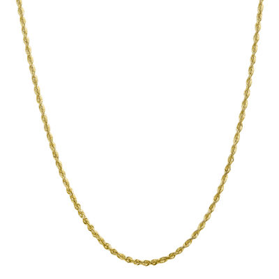 20 Inch Hollow Rope Chain Necklace