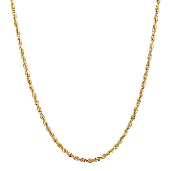 24 Inch Hollow Rope Chain Necklace