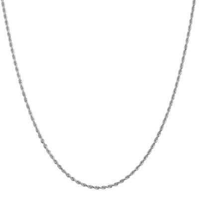 22 Inch Rope Chain Necklace