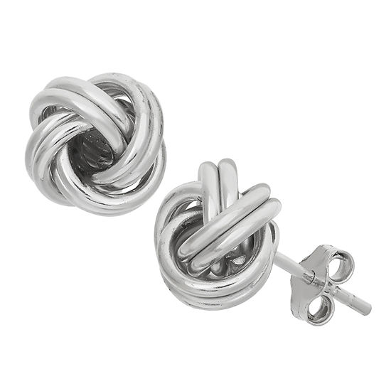 Sterling Silver 10mm Stud Earrings