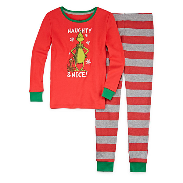 96bda171ebe4 The Grinch Family Pajamas - JCPenney