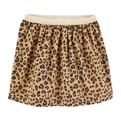 Carter's Psg Gold Knit Pleated Skirt Girls