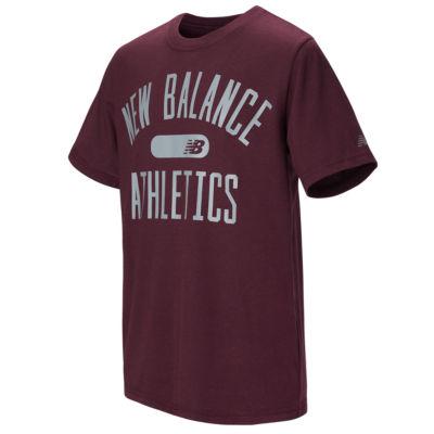 New Balance Holiday 2018 Short Sleeve Round Neck T-Shirt-Preschool Boys