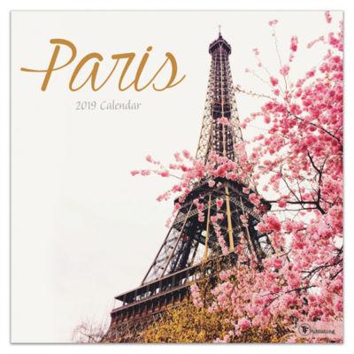 Tf Publishing 2019 Paris Wall Calendar