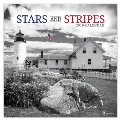 Tf Publishing 2019 Stars And Stripes Wall Calendar