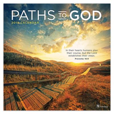 Tf Publishing 2019 Paths To God Wall Calendar