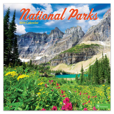Tf Publishing 2019 National Parks Wall Calendar
