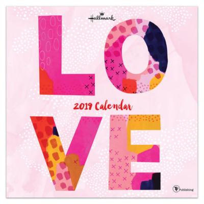 Tf Publishing 2019 Love By Hallmark Wall Calendar