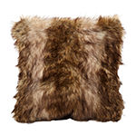 Greer Faux Fur Square Decorative Pillows