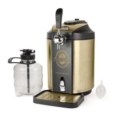 Nostalgia CBD5 HomeCraft™ On Tap Beer Growler Cooling System