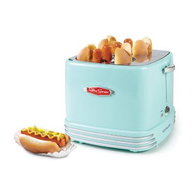 Nostalgia RHDT800AQ 4-Slot Retro Hot Dog Toaster