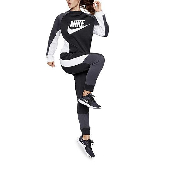 Womens-Nike Graphic Crew Sweatshirt
