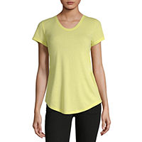 ANA Womens Scoop Neck Short Sleeve T-Shirt