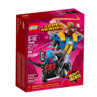 LEGO Marvel Super Heroes Mighty Micros: Star-Lord vs. Nebula 76090