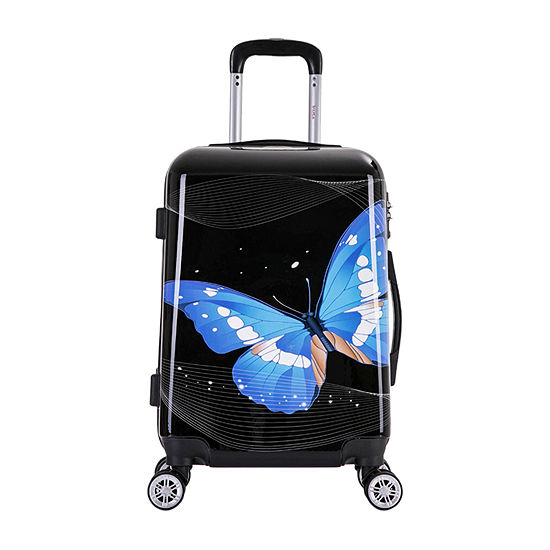 InUSA Prints Lightweight 20 Inch Hardside Spinner