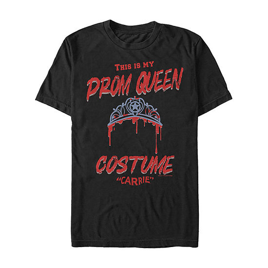 Carrie This Is My Prom Queen Costume Mens Crew Neck Short Sleeve Graphic T-Shirt
